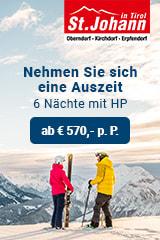 4 & 5 Stern Hotels in der Region St. Johann in Tirol