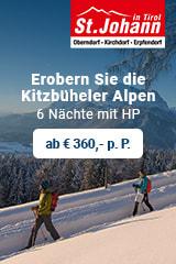 3 Stern Hotels in der Region St. Johann in Tirol
